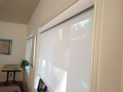 Roller Shades Living Room